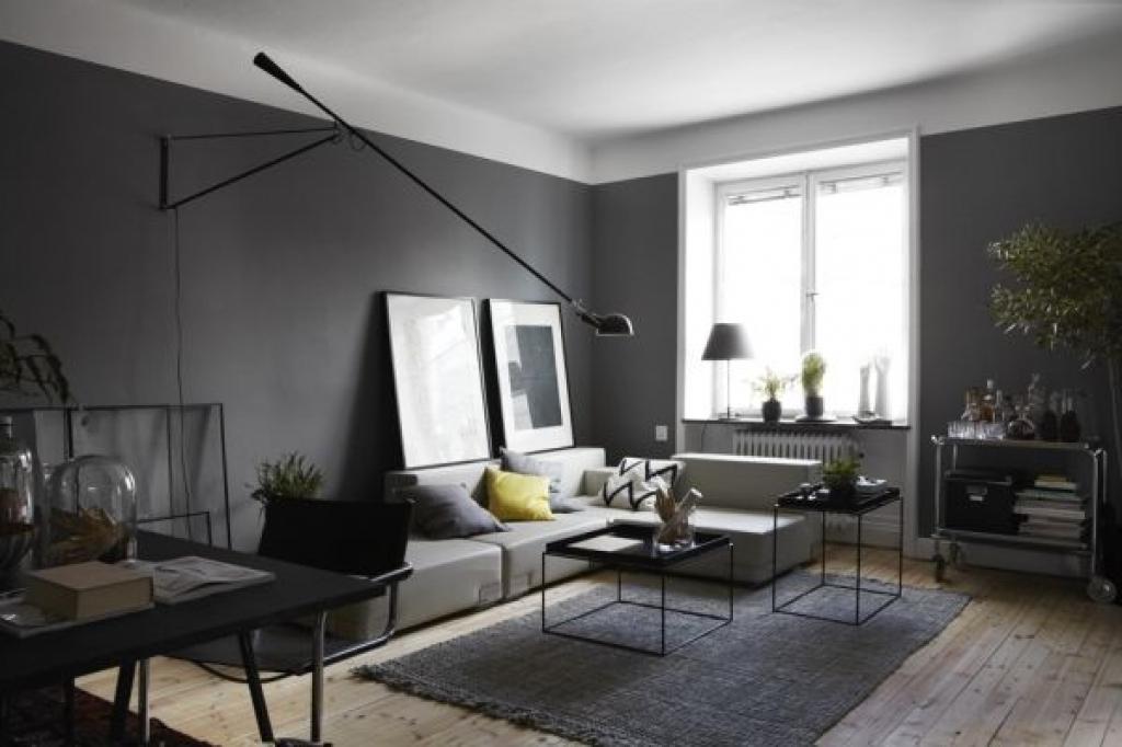 Wandfarbe Wohnzimmer Modern Stilvoll On In Bezug Auf Popular Dekoration Puertas Y Ventanas 1