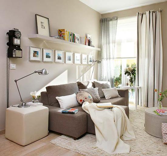 Wandgestaltung Beige Braun Unglaublich On Beabsichtigt Wohnzimmer Einrichtung 5