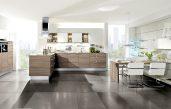Wandgestaltung Esszimmer Küche Beige Braun