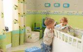 Wandgestaltung Kinderzimmer Junge Grün Braun