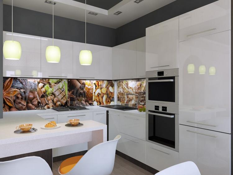 Wandgestaltung Küche Farbe Bemerkenswert On Andere Beabsichtigt 25 Ideen Mit Tapete Und Mehr 8