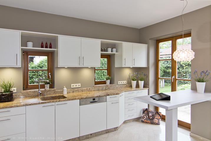 Wandgestaltung Küche Farbe