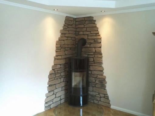 Wandgestaltung Mit Steintapete Imposing On Andere Innerhalb Stein Tapete Wohnzimmer Home Design Ideas 4
