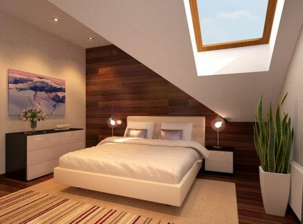 Wandgestaltung Schlafzimmer Dachschräge Bemerkenswert On In Gestaltung Mit Moderne Zusammen Oder 6