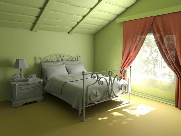 Wandgestaltung Schlafzimmer Dachschräge Nett On Auf Mit 34 Tolle Bilder Archzine Net 8