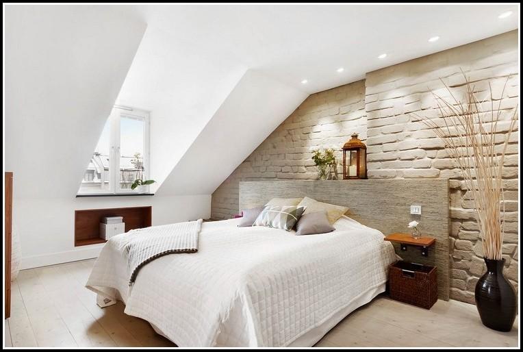 Wandgestaltung Schlafzimmer Dachschräge Schön On Mit Ideen Arkimco Com 2