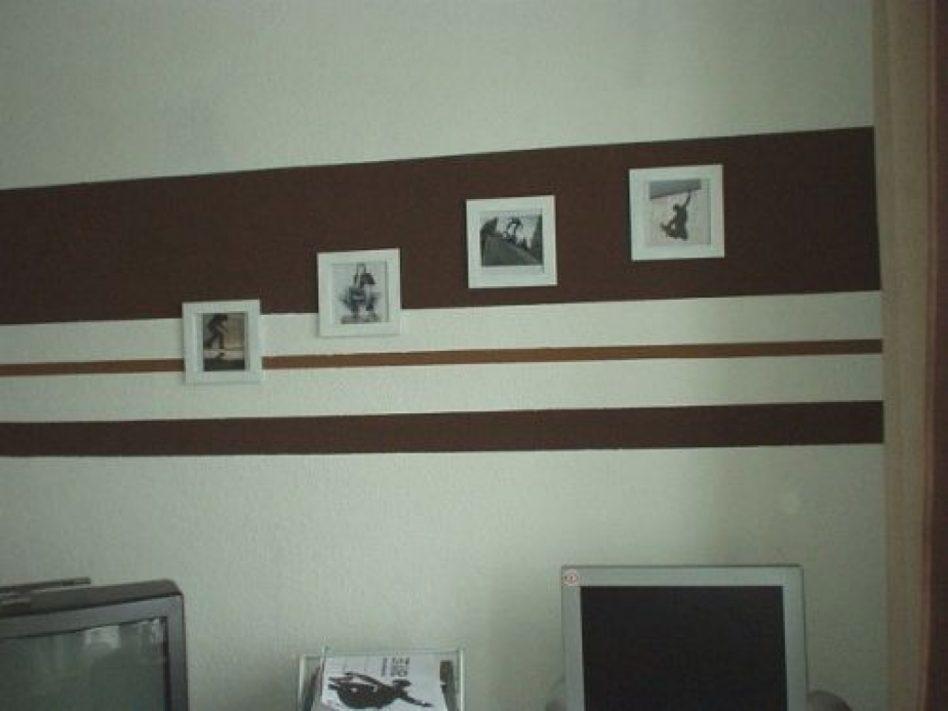 Wandgestaltung Schlafzimmer Streifen Großartig On überall Gestaltung Beste Ideen KogBox Com 6