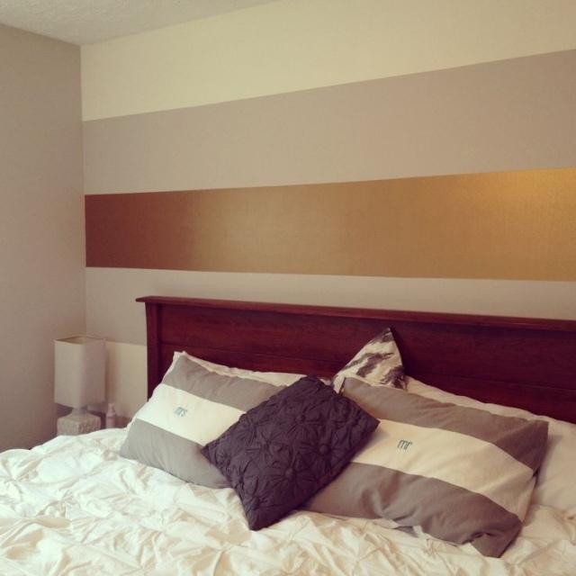 Wandgestaltung Schlafzimmer Streifen Nett On überall Farbe Tags 4