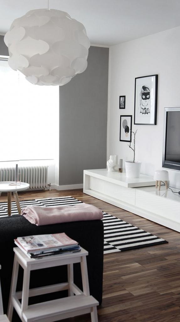 Wandgestaltung Weiß Grau Charmant On Andere Und Wohndesign 2017 Herrlich Attraktive Dekoration Weis 6