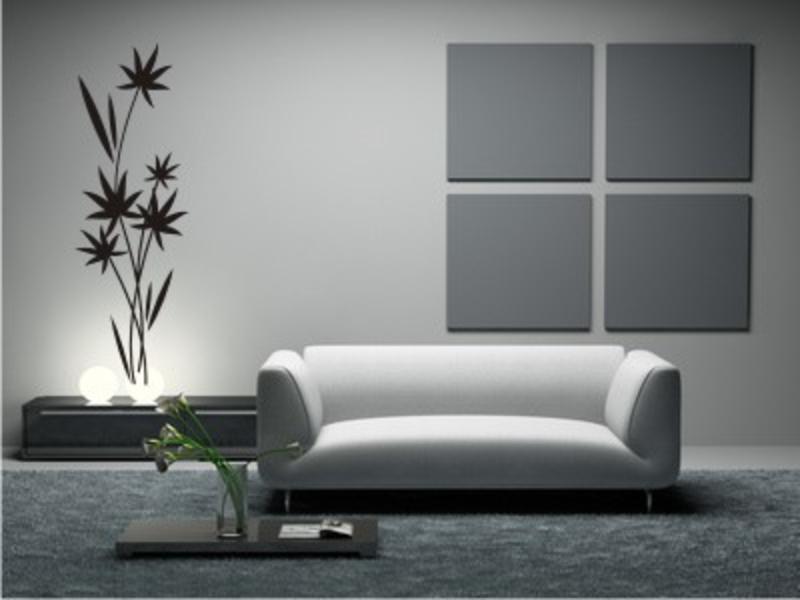 Wandgestaltung Weiß Grau Modern On Andere Mit Wei Design 1