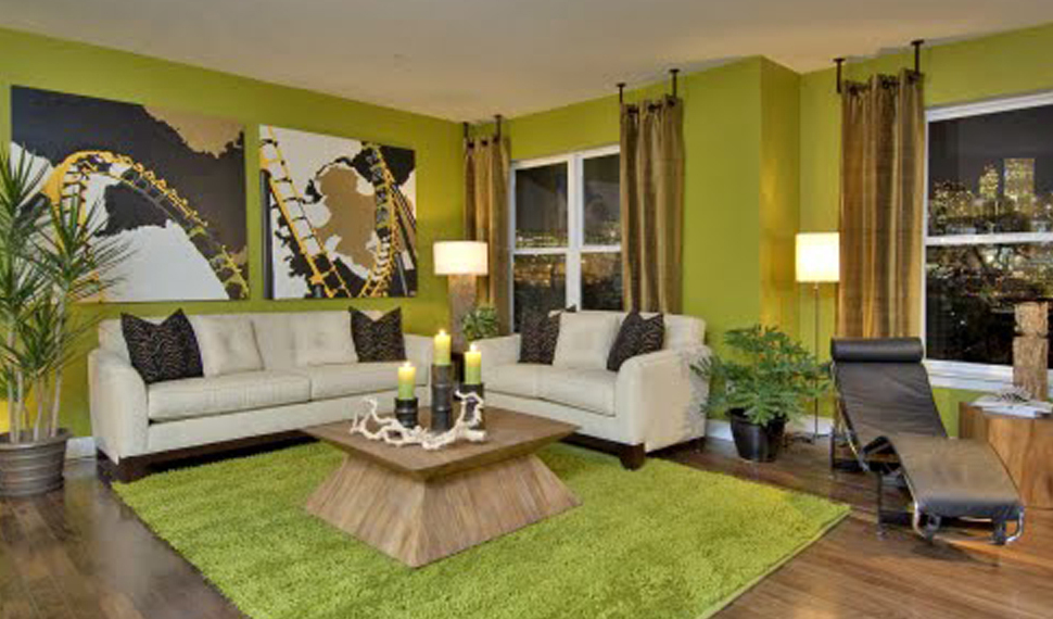 Wandgestaltung Wohnzimmer Grün Braun Nett On Auf Amocasio Com 3