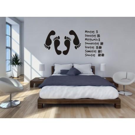 Wandtattoo Schlafzimmer Charmant On Für Wandtatto Fürs Das 5