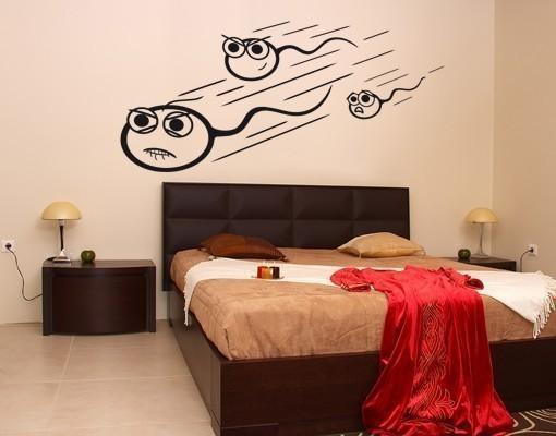 Wandtattoo Schlafzimmer