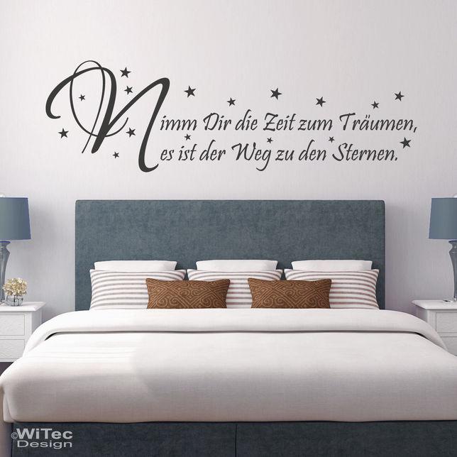 Wandtattoo Schlafzimmer Zeitgenössisch On Mit Zeit Zum Träumen 2