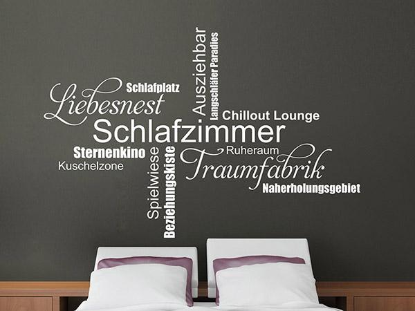 Wandtattoo Weiß Schlafzimmer Unglaublich On Beabsichtigt Amocasio Com 5