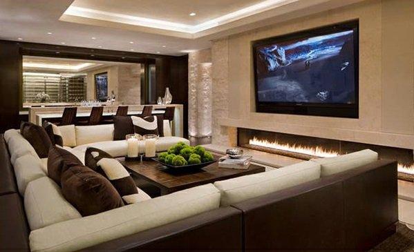 Weiß Braun Einrichten Perfekt On Für Wohnzimmer Weiss 4