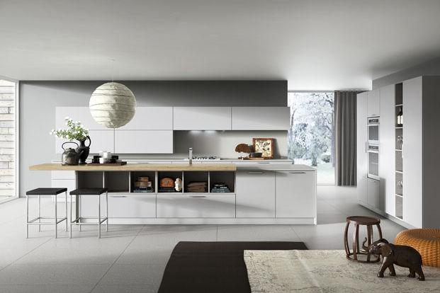 Weiss Küche Mit Kochinsel Glänzend On Andere überall Moderne In Der 71 Perfekte Design Ideen 6