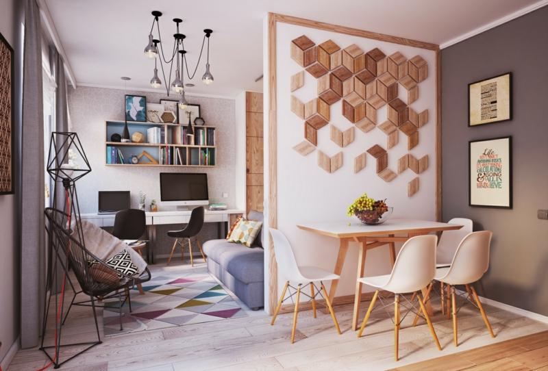 Wohn Und Schlafzimmer Glänzend On Innerhalb Wohnideen Für Kleine Räume 25 2