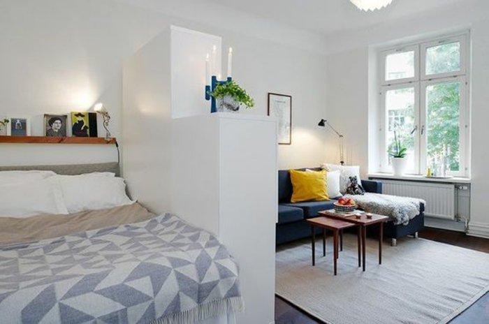 Wohn Und Schlafzimmer Schön On Auf Stilvoll Ideen Wohnzimmer Im Selben Raum 20 5