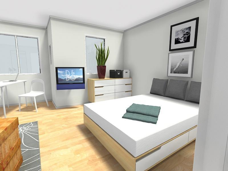 Wohn Und Schlafzimmer Stilvoll On Beabsichtigt Ganz Einrichten 9