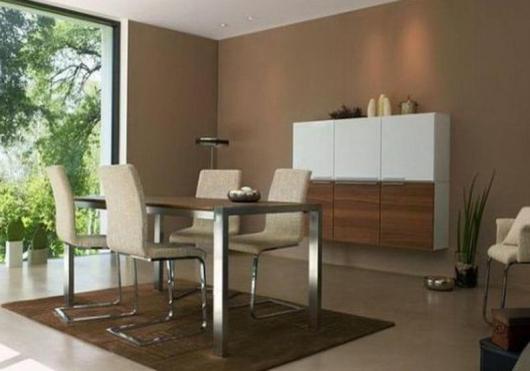 Wohnideen Esszimmer Braun Grau Bemerkenswert On Beabsichtigt Wohnzimmer Beige Streichen Aufdringend 1