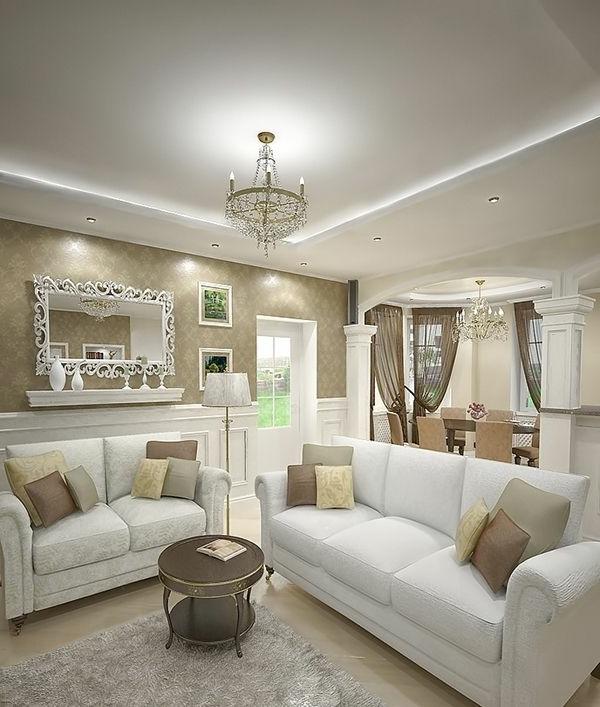 Wohnideen Wohnzimmer Beige Braun Erstaunlich On Beabsichtigt Wohndesign 4