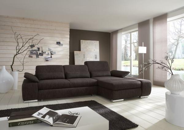 Wohnideen Wohnzimmer Beige Braun Großartig On Und Modern Erfreulich Ideen 2