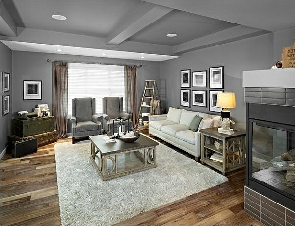 Wohnideen Wohnzimmer Grau Braun Wunderbar On Und Lwjacobs 4