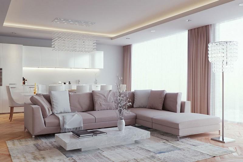 Wohnideen Wohnzimmer Modern On Ideen Innerhalb 125 Für Und Design Beispiele 8