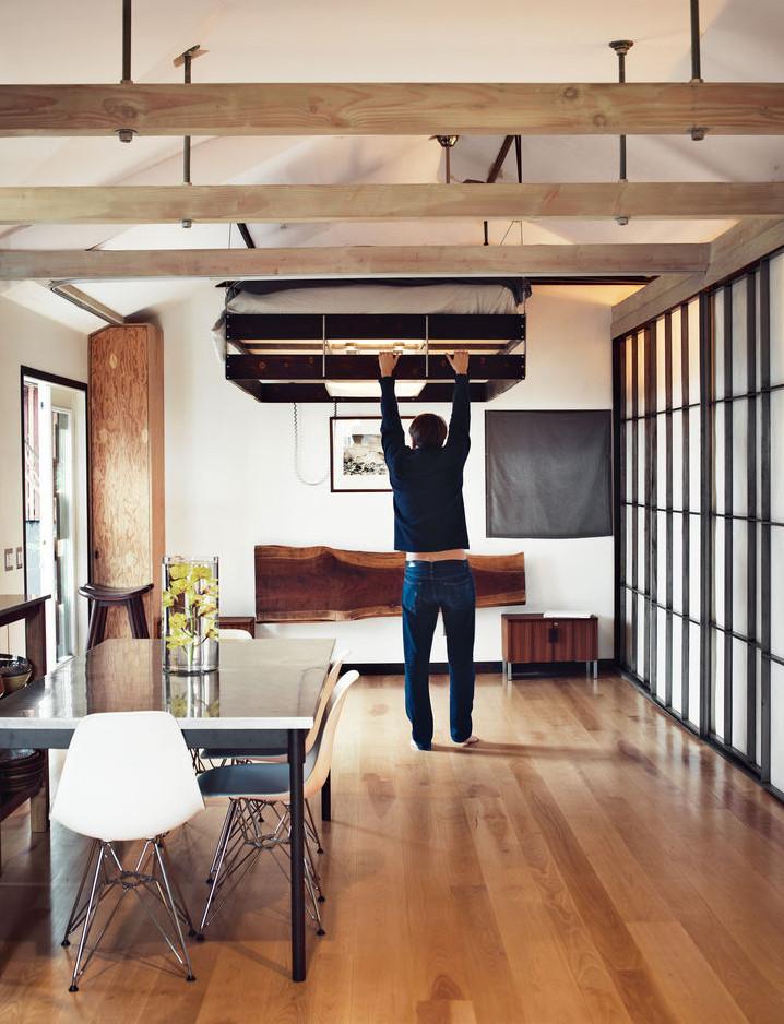 Wohnungen Einrichten Beispiele Fein On Andere Für Die Kleine Wohnung Mit Hochhbett FresHouse 3