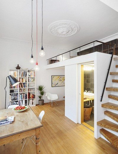Wohnungen Einrichten Beispiele Fein On Andere Innerhalb Die Kleine Wohnung Mit Hochhbett FresHouse 6
