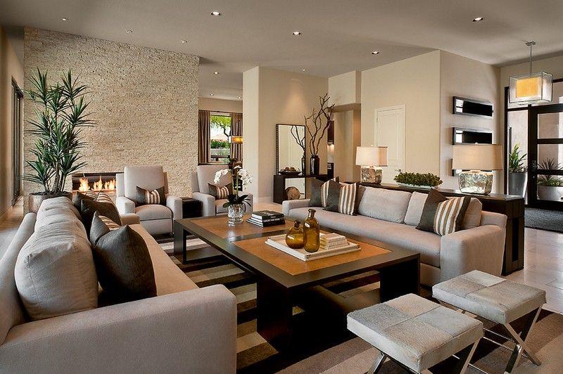Wohnzimmer Beige Braun Grau Bemerkenswert On Für Einrichten Rheumri Com 4