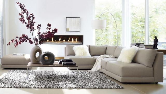 Wohnzimmer Beige Braun Grau Interessant On Beabsichtigt Ideen Zum Einrichten In Neutralen Farben 7