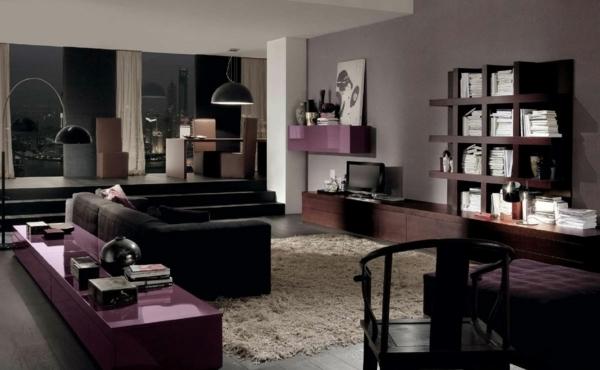 Wohnzimmer Beige Braun Schwarz Wunderbar On Mit Verzaubern 1