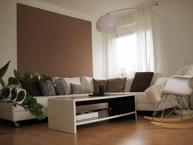 Wohnzimmer Beige Streichen Fein On Für Braun Farben Fr Ziakiacom Design 3