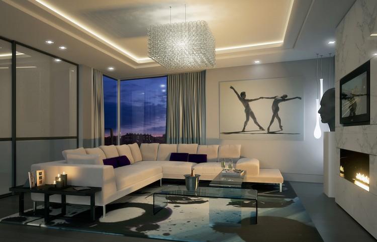 Wohnzimmer Beleuchtung Modern Exquisit On Auf Beispiele Und Tipps Zur Planung 3