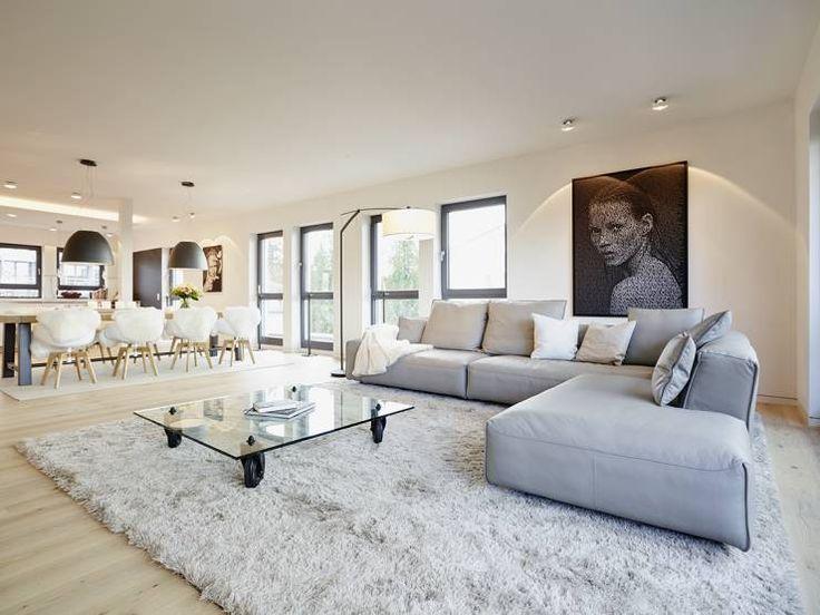 Wohnzimmer Beleuchtung Modern Glänzend On Für Led Decke 1 LED Pinterest 8