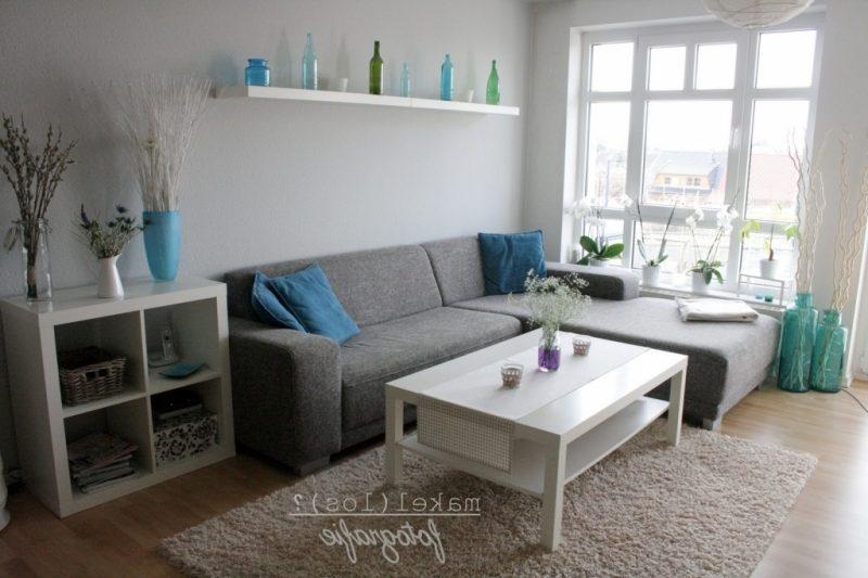 Wohnzimmer Blau Grau Rot Herrlich On Und Uncategorized Kleines Gemtliche 7