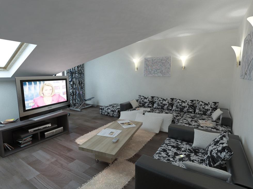 Wohnzimmer Braun Beige Einrichten Ausgezeichnet On Innerhalb Bilder 3D Interieur 5 6