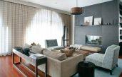 Wohnzimmer Braun Beige Grau