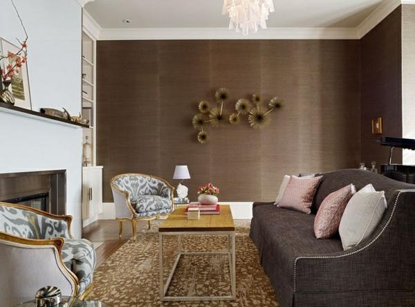 Wohnzimmer Braun Weiß Beeindruckend On überall Farbgestaltung Schmauchbrueder Com 7