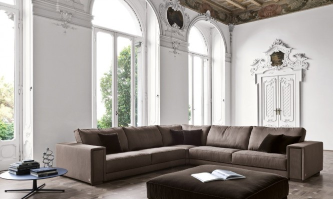 Wohnzimmer Braun Weiß Modern On In Bemerkenswert Beabsichtigt 8