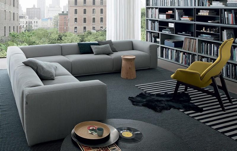 Wohnzimmer Couch Einzigartig On Für Sofa In Grau 50 Mit Designer 3