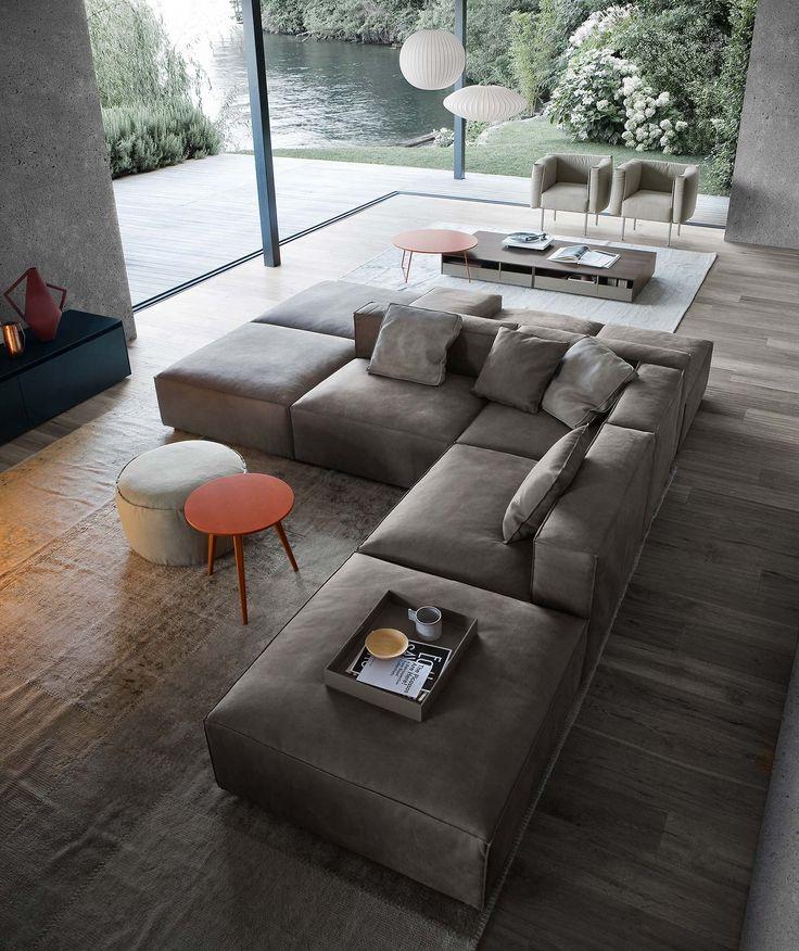 Wohnzimmer Couch Erstaunlich On In Bezug Auf Sofas Richtig Im Platzieren Sofa Und Designs 2
