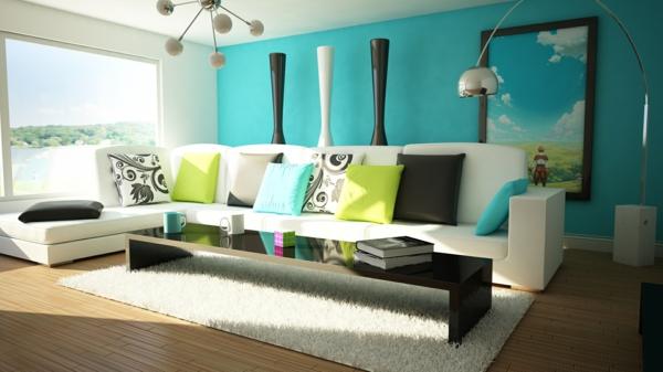 Wohnzimmer Deko Farben Perfekt On Auf Herrlich Wie Ein Modernes Aussieht 135 1