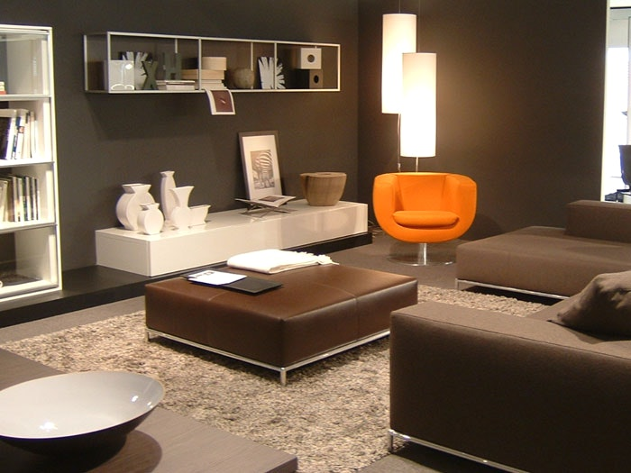 Wohnzimmer Dekorieren Braun Beeindruckend On Und Dekoration Full Size Of Wohndesigntolles Moderne 1