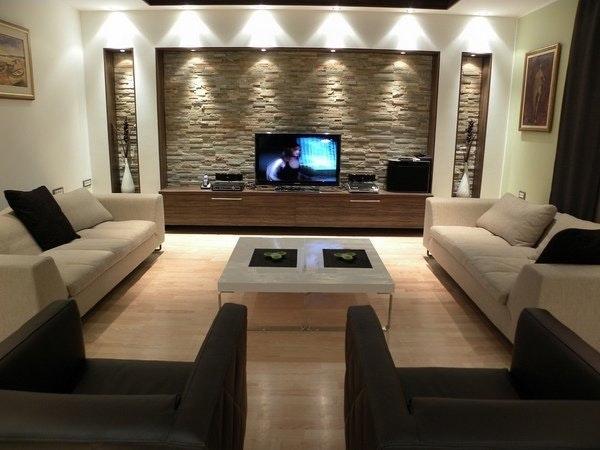 Wohnzimmer Dekorieren Braun Einfach On Innerhalb Einzigartig In Home Dekor 9