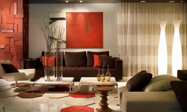Wohnzimmer Dekorieren Braun Exquisit On Mit Govconip Com 2
