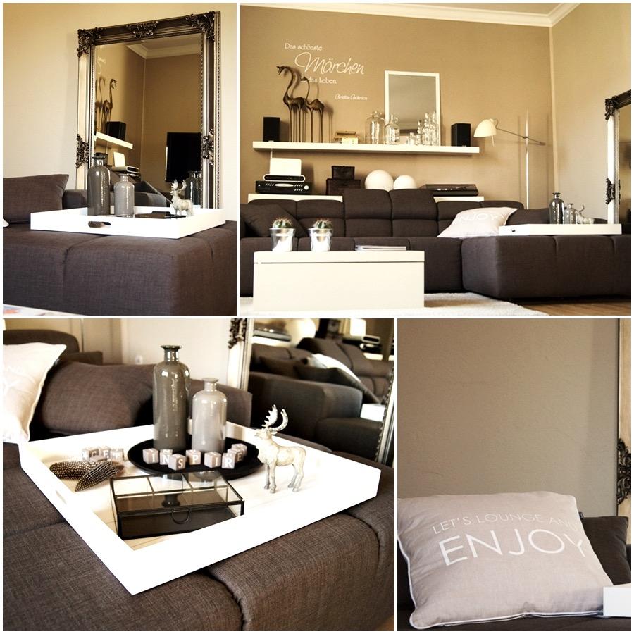 Wohnzimmer Dekorieren Ideen Exquisit On überall Deko Fur Uncategorized Kleines Furs 1