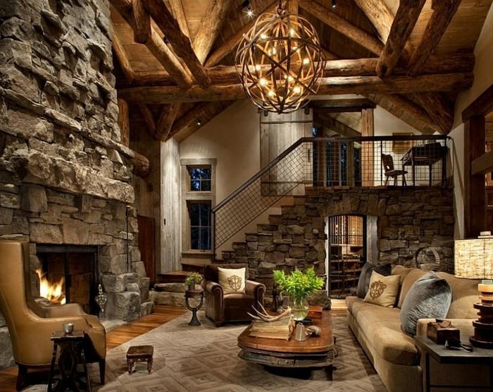 Wohnzimmer Design Landhaus Exquisit On Mit Moderne Stunning 5